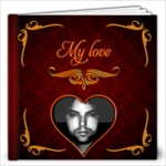 100 love letters to him 12x12 - 12x12 Photo Book (20 pages)