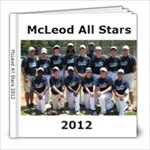 McLeod 2012 - 8x8 Photo Book (30 pages)