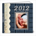 2012 Memories 8x8 39 Page Photo Book - 8x8 Photo Book (39 pages)