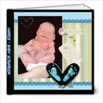 Harris - Baby Scrapbook - 8x8 Photo Book (20 pages)