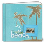 Beach Vacation 8x8 Deluxe Photo Book (20 pgs) - 8x8 Deluxe Photo Book (20 pages)