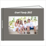 grant family 2012 - 9x7 Photo Book (20 pages)