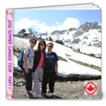 Canada Part 1 - 8x8 Deluxe Photo Book (20 pages)