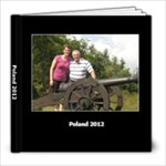 Poland 2012 - 8x8 Photo Book (60 pages)