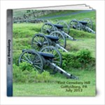 Gettysburg 2012 - 8x8 Photo Book (20 pages)