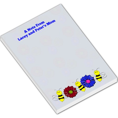 Playdate Notepad By Patricia W   Large Memo Pads   D7hhfvry7bno   Www Artscow Com