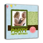 birthday party  - Mini Canvas 8  x 8  (Stretched)