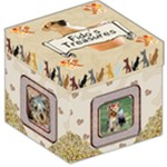 Dog supply storage box - Storage Stool 12