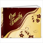 Our family 9 x 7 book - 9x7 Photo Book (20 pages)