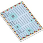 Web-Notes Blue Memopad - Large Memo Pads