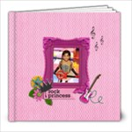8x8 (20 pages): My Rock Princess - 8x8 Photo Book (20 pages)