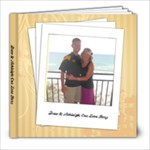 Our Love Story Book - 8x8 Photo Book (20 pages)