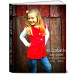 Elle - 1st grade book - 8x10 Deluxe Photo Book (20 pages)