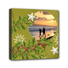 ShabbyChristmas Vol1 - Mini Canvas 6x6(stretched)  - Mini Canvas 6  x 6  (Stretched)
