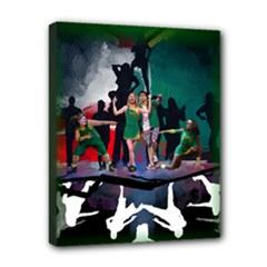 10x8 Stretched_Bring It On Sketch - Canvas 10  x 8  (Stretched)