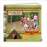 Skyview 2012 girls - 6x6 Photo Book (20 pages)