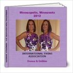 Twins Book - 8x8 Photo Book (20 pages)