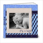 Carter Newborne - 6x6 Photo Book (20 pages)