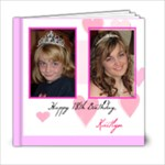 Katie s 18th Birthday Book - 6x6 Photo Book (20 pages)