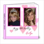 Katie s 18th Birthday Book 2 - 6x6 Photo Book (20 pages)