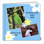 Sunny Days 8x8 Book (39 Pages) - 8x8 Photo Book (39 pages)