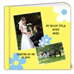 Sunny Days Deluxe 8x8 Book 2 (20 Pages) - 8x8 Deluxe Photo Book (20 pages)