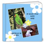 Sunny Days Deluxe 8x8 Book (20 Pages) - 8x8 Deluxe Photo Book (20 pages)