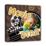 super star - Mini Canvas 8  x 8  (Stretched)