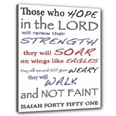 Present - Isaiah 40:51 - Canvas 24  x 20  (Stretched)