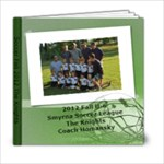 Knight Anna Soccer - 6x6 Photo Book (20 pages)