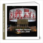VN2008A - 8x8 Photo Book (39 pages)