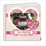 weddding - 6x6 Photo Book (20 pages)