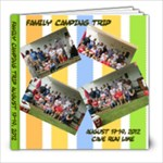 2012 Family camping trip - 8x8 Photo Book (39 pages)