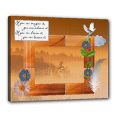 Inspirational Canvas 20x16 Stretched - Canvas 20  x 16  (Stretched)