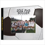 PHS Soccer 2012 - 9x7 Photo Book (30 pages)