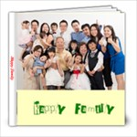 happy family 1 - 8x8 Photo Book (20 pages)