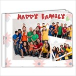 happy family 2 - 11 x 8.5 Photo Book(20 pages)