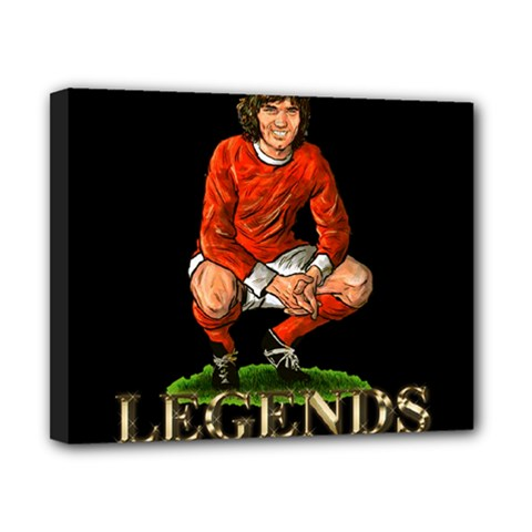 George Best Canvas 10  x 8  (Stretched) by OurInspiration