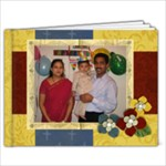 Rishi - 9x7 Photo Book (20 pages)