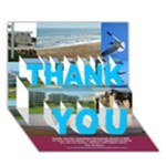 cbthanksV2 - THANK YOU 3D Greeting Card (7x5)