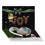 Joy 7x5 3D Card - Heart Bottom 3D Greeting Card (7x5)