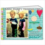 twins2ndbday - 9x7 Photo Book (20 pages)
