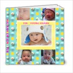BIN TIN - 6x6 Photo Book (20 pages)