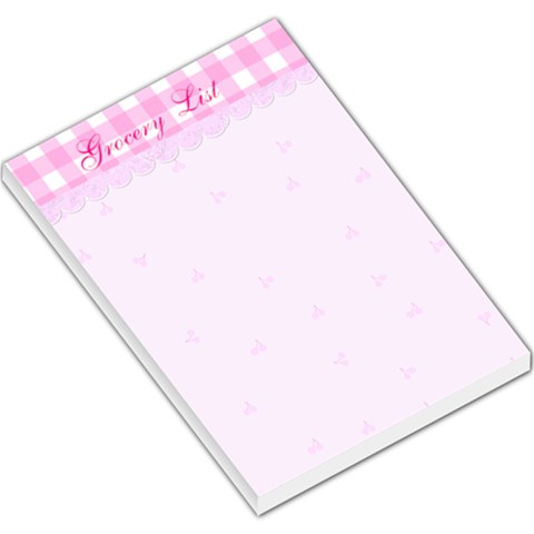 Grocery List Note Pad By Suzie   Large Memo Pads   Yjao12o532lj   Www Artscow Com