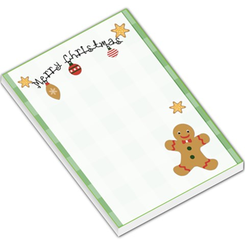 Christmas Memo 2 By Lillyskite   Large Memo Pads   A0ojmo0stcwn   Www Artscow Com