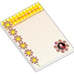 Love them and they will grow Large Note Pad - Large Memo Pads