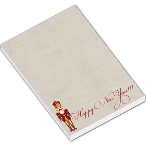Xmas By Divad Brown   Large Memo Pads   Eisshnkc1zlj   Www Artscow Com