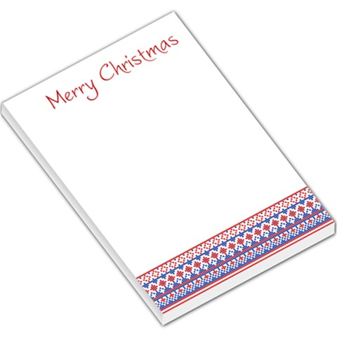 Xmas By Divad Brown   Large Memo Pads   6kjdyansz258   Www Artscow Com