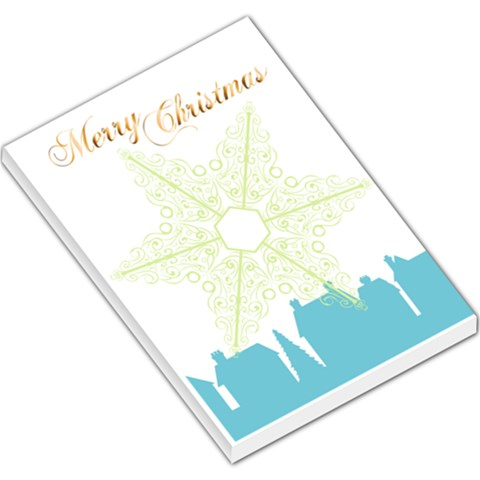 Xmas By Divad Brown   Large Memo Pads   Y2bxi07emhvs   Www Artscow Com
