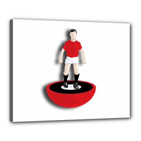 Subbuteo 3 Canvas 20  x 16  (Stretched) by OurInspiration